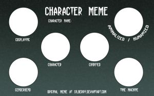 Character Meme by Silberry