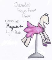 Oleander Poison Prom Dress by SarahThePegasister