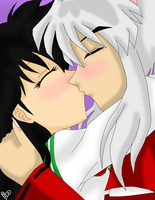 Inuyasha x Kagome I love you by IcyRoads