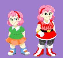 STH - Human Amy Rose by Future-Gamefreak