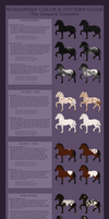 Nordanner Color Guide: The Leopard Complex by sazzy-riza