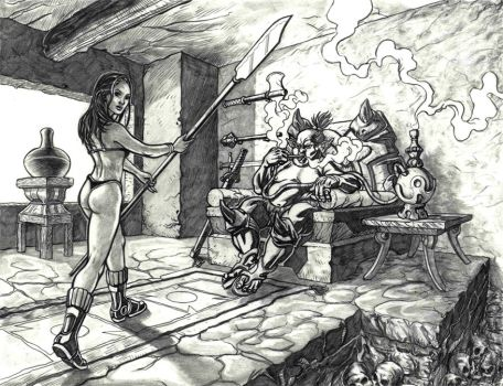 Slave Girl by boognish420