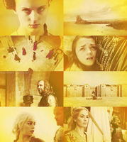game of thrones - yellow by Linds37