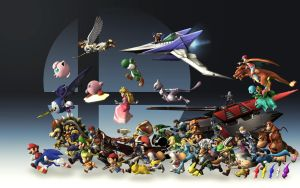 Super Smash Bros Generations [Wallpaper] by Tailsmiles249