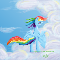 Rainbow's Lament by GlacialFalls