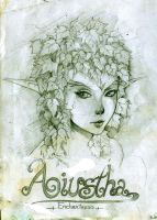 Daily Sketch - AIUSTHA The Enchantress by KenshjnPark