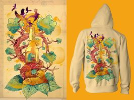 Natural Cycle : Hoodie by choppre