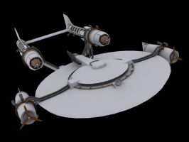 United Airship Enterprise 1 by trekmodeler