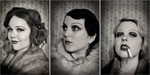 1920's flapper makeup by tsorningold