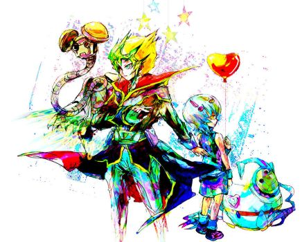 zexal- Photon brothers by hj