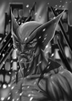 Wolverine: Speed-Painting by wraith2099