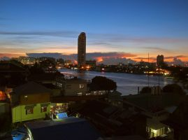 BKK sunset by geckogr