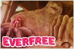 postcards from Everfree--pinkie by CosmicUnicorn