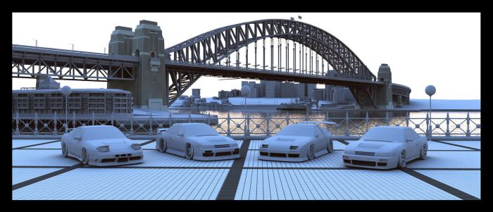 Sydney Harbour Tribute 12 by advanRE7