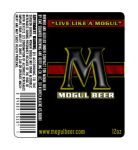 Mogul Beer bottle label by SD-Designs