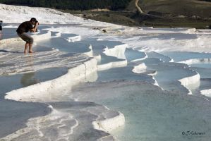 the white Pamukkale by Sockrattes