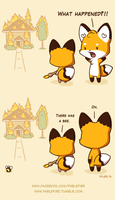 160407 Bees Happen by fablefire