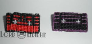 3D Transforming Tapes Ratbat + Laserbeak X Stitch by LordLibidan