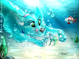 Icicle by MittensTheNoble