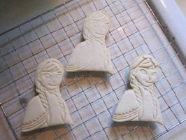 Princess Anna Cookies Baked by B2Squared