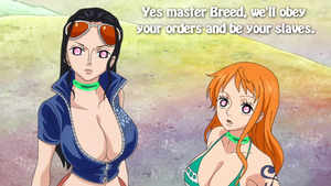 Nami and Robin - Controlled By Breed by ManoloHypno