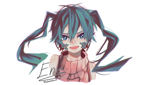 Ene - Painting practice by Mazumaro