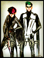 GD and TOP by GRIDyo