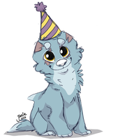 Happy Birthday Blueeee by Catatouillee