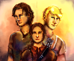 Hunger Games by chanso