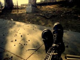 Boots, Benicia Cemetery 07 by Noreiarain