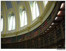 London 10 - Library by trydisegna