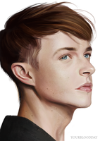 Dane William DeHaan by DinaKononova