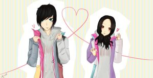 Nanami and Christopher - Love ? by AIRI-ON