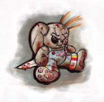 Chucky the Good Guy Bunny by Flame-Ivy