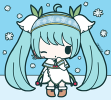 Snow Miku 2015 by ScarletSide