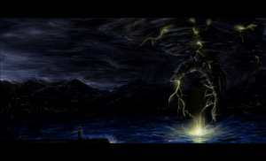falling storm by Travis-Anderson