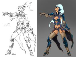 Substrata mage warrior 2 by DavidSequeira