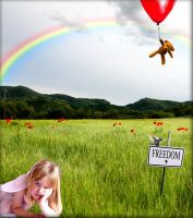 Reaching out for freedom by colorful-child