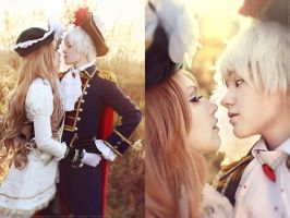 APH. Prussia and Hungary. Love you by DenikaKiomi