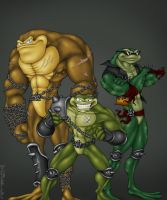 Battletoads by Owl-Robot