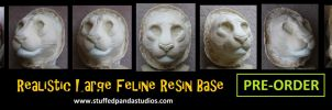PRE-ORDER large feline resin and foam base by stuffedpanda-cosplay