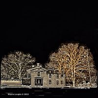 Nighttime at the Fourth Mansion by wdlougee