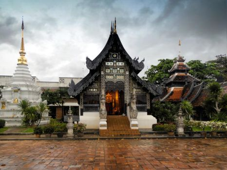 Thailand Temples by cemacStock