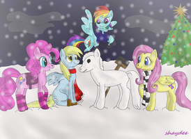 A Pony Christmas by The-Real-Shaydee