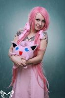Jigglypuff love by AshtrayheartRomina