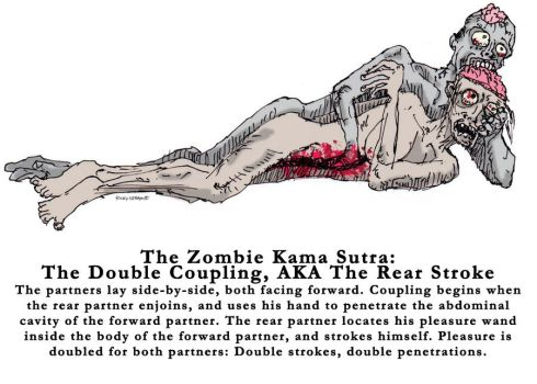 Zombie Kama Sutra: Double by TroyJunior