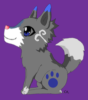 3 Point Wolf Adopt by Snowflame132
