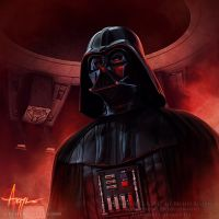 Darth Vader by SteveArgyle