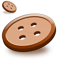Two simple wooden buttons ... (still testing) by mondspeer