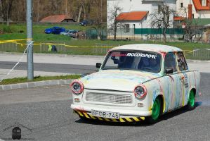 Trabant 601 - Campus Cup in Gyor, 2013 by morpheus880223